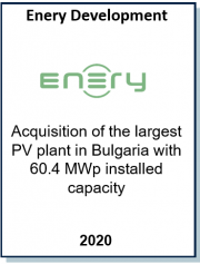 Advised an Austrian investor on the acquisition of 60.4 MW solar park in Bulgaria