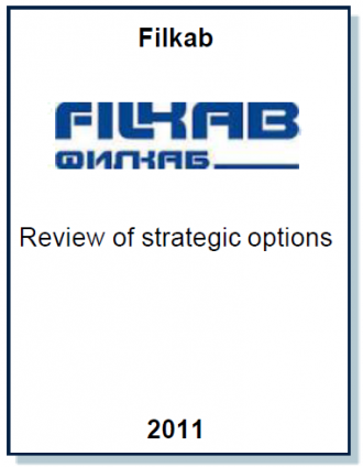 Entrea Capital performed a review of strategic options for Filkab