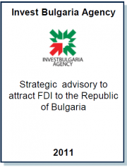 Entrea Capital served as the key implementer of InvestBulgaria Agency's Global FDI Strategy in 2012-2013