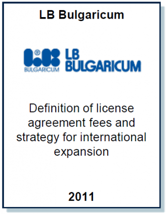 Entrea Capital advised LB Bulgaricum on global strategy and developing an effective licensing fee structure