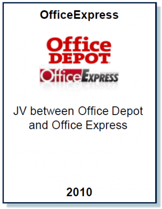Entrea Capital advised Office Express on the establishment of a joint venture with Office Depot