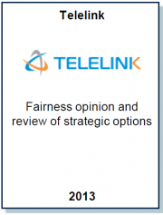 Entrea Capital conducted a fairness opinion for Telelink