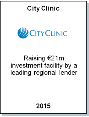 Entrea Capital advised City Clinic, the fastest growing Bulgarian hospital group, on €21m investment and refinancing loan facility