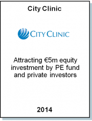 Entrea Capital advised City Clinic on €5m capital increase