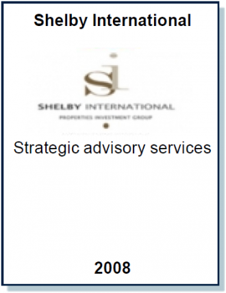 Entrea Capital provided strategic advisory services to Shelby International